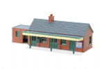 LK-12 Peco: 'MANYWAYS' SERIES LINESIDE KITS Country Station Building, brick type
